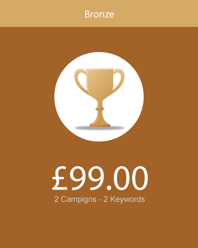 bronze - package - web design lancashire
